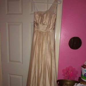 Beautiful light tan color dress